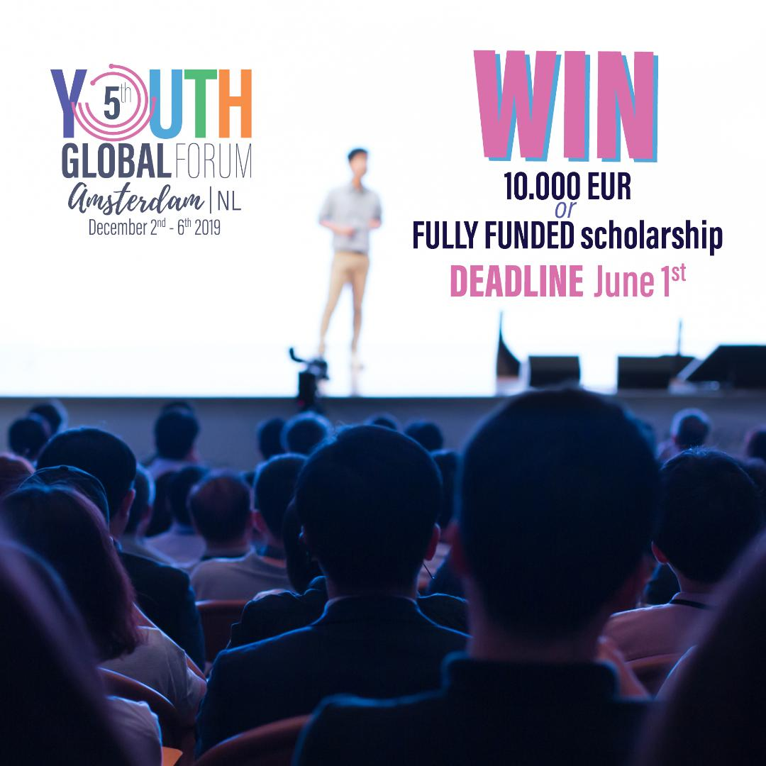 Youth Global Forum in Netherlands 2019: Call for Participants and